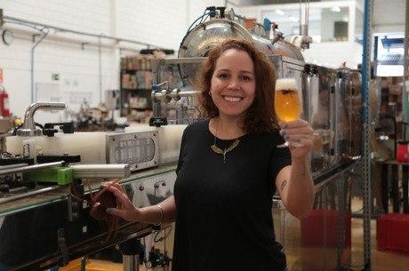 Luiza Tolosa - sócia da Cervejaria Dádiva