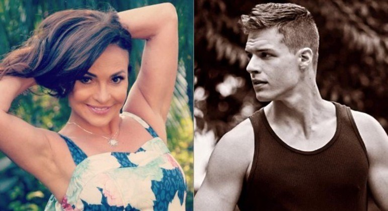 Filho da atriz Luiza Tomé chamou a atenção de internautas por conta da forma física