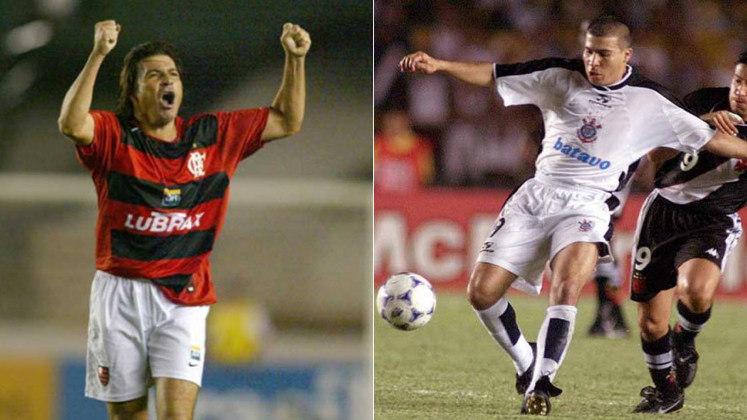 LUIZÃO – O atacante venceu o Mundial de Clubes de 2000 e o Brasileiro de 1999 com o Corinthians e a Copa do Brasil de 2006 pelo Flamengo.