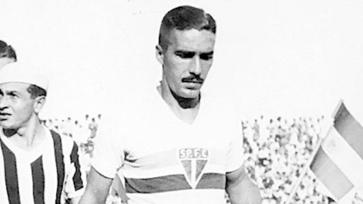 Luizinho: 22 gols em 1944 - No ano em que o São Paulo foi vice-campeão, o artilheiro foi do Tricolor. Luisinho terminou o campeonato com 22 gols.
