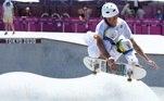 Luizinho, Luiz Francisco, skate