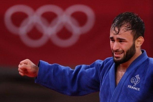 Luka Mkheidze, da França, completou o pódio e ficou com a medalha de bronze do judô masculino.