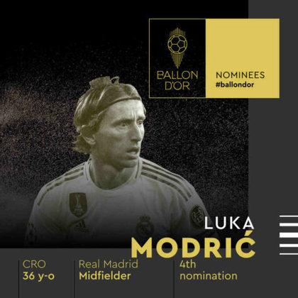 Luka Modric (croata) - meia - Real Madrid