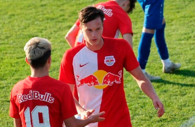 Luka Reischl (Áustria) - Clube: Red Bull Salzburg (Áustria) - Posição: Atacante