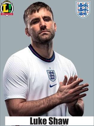 Luke Shaw – 7,0 – O ala foi o responsável por abrir o placar da partida, colocando a Inglaterra na frente logo aos dois minutos de bola rolando.