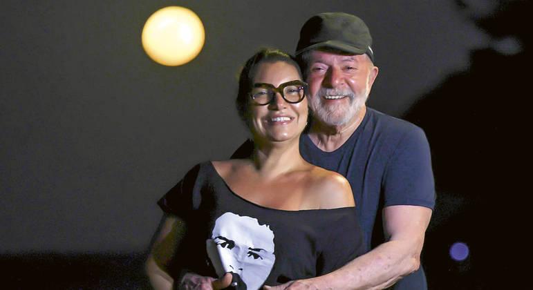Lula com Janja, a voz do coração do petista