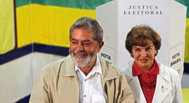 Marisa Letícia preferiu não se envolver em nenhuma atividade oficial como primeira-dama