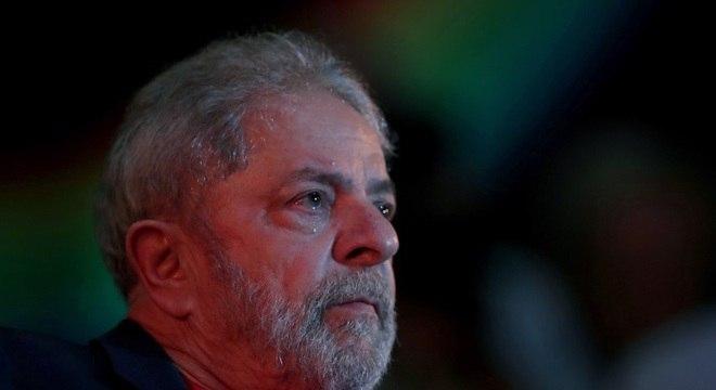 Lula está preso há pouco mais de um ano na Polícia Federal em Curitiba (PR)