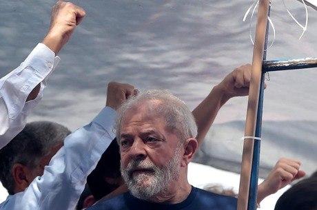 Lula está na PF de Curitiba