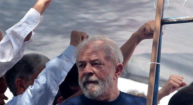 Lula está preso na PF de Curitiba desde o último dia 7 de abril