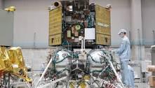 Rússia adia missão lunar por dificuldades de pouso da Luna-25