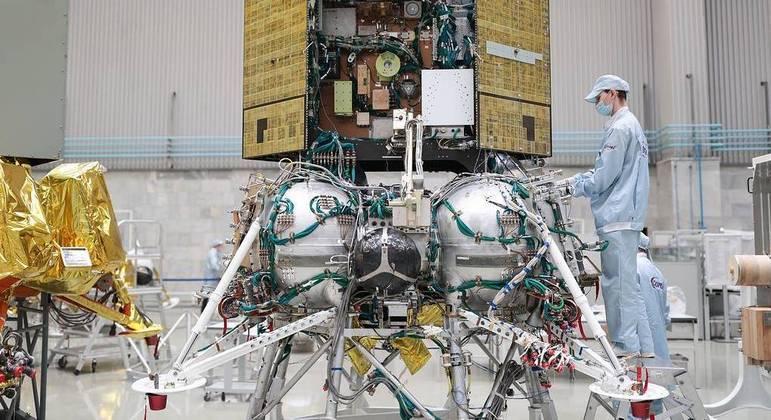 Lançamento da Luna-25 foi adiado e deve acontecer somente em maio de 2022