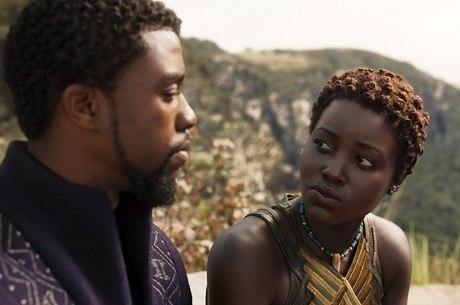 Lupita  fala pela 1ª vez após morte de Boseman