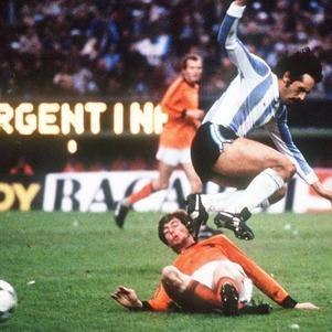 Luque foi titular em cinco dos sete jogos da Argentina na Copa 1978