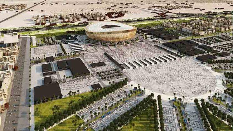 Lusail Iconic Stadium: Copa do Mundo 2022 - Capacidade: 86.250 - Previsão de entrega: 2022.