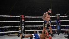 Lutador morre após nocaute em estreia no boxe sem luvas