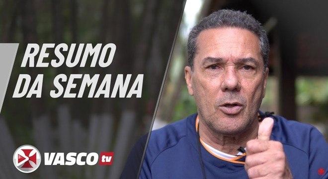 Luxemburgo aproveita a Vasco TV e dá a sua versão da semana do clube