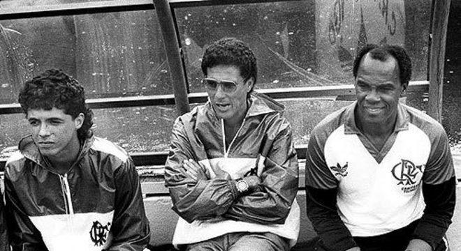 Fracasso em 1991, na primeira Libertadores, com o Flamengo