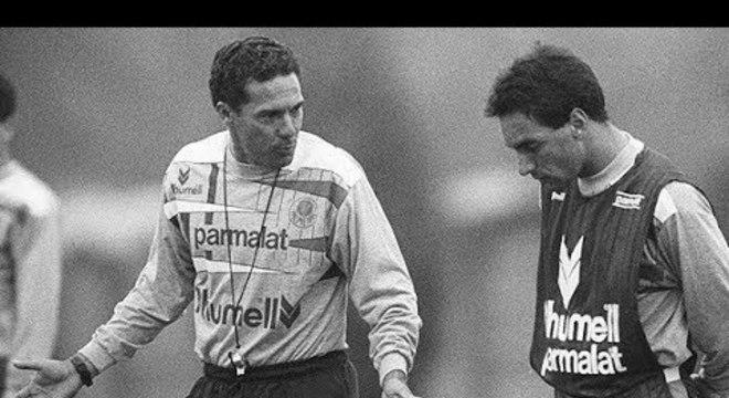 Insucesso de Luxemburgo com o Palmeiras na Libertadores. Em 1994