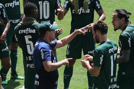 Luxemburgo ainda não conseguiu arrumar o Palmeiras