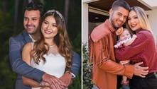 Filha de Leandro revela por que Zé Felipe não foi em seu noivado