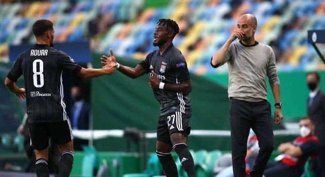 A alegria de Aouar e Cornet, a decepção de Guardiola