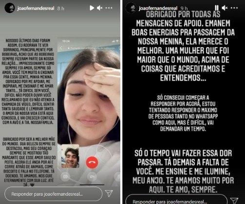 João Fernandes diz como foram últimos dias com Mabel