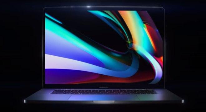 Apple anuncia sem alarde o novo MacBook Pro 16 poelgadas