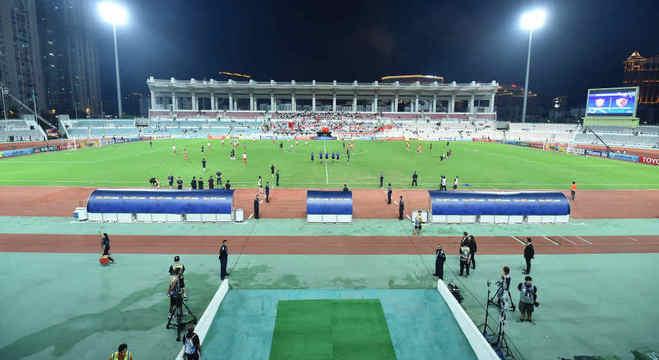 O Estádio Campo Desportivo