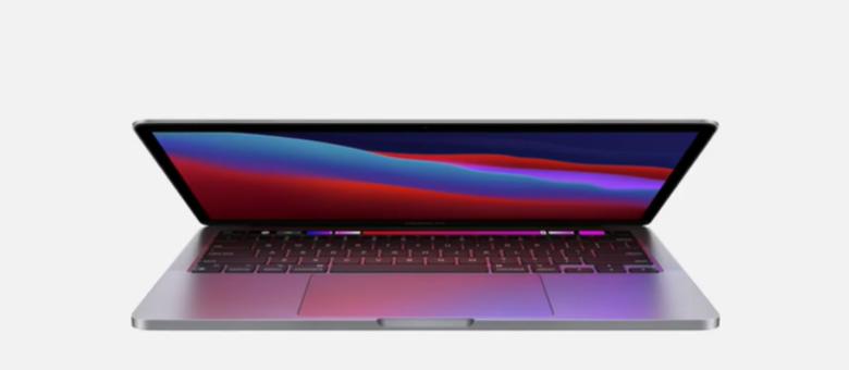 O novo MacBook Pro com o processador M1 desenvolvido pela Apple