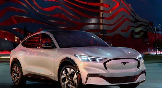 """Mach E, elétrico da Ford é um modelo 100% """"nacional"""" para responder à demanda do futuro"""