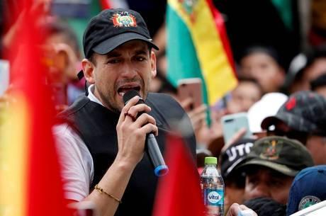Camacho anuncia candidatura à presidência