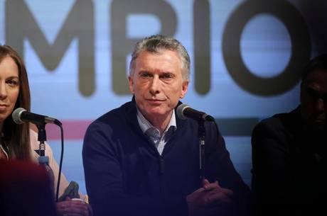 Macri reconheceu derrota