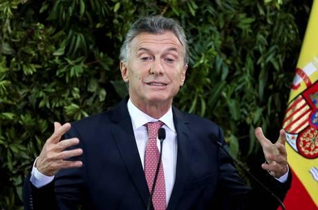 Macri criticou as políticas dos últimos governos