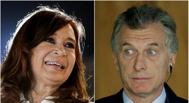 Presidente Macri fez referência à candidatura de  Cristina Kirchner