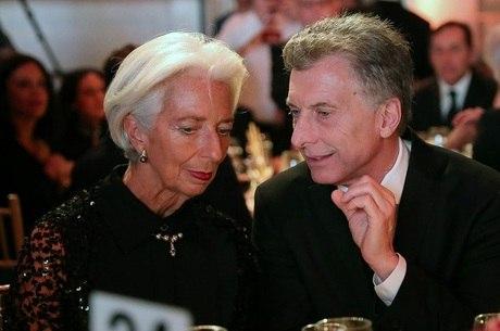 Macri conversa com Lagarde em Nova York