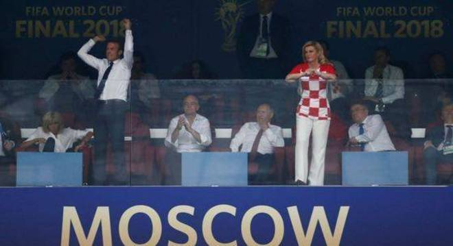 Macron, Infantino/FIFA, Putin e Kolinda