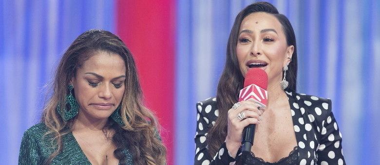 Quitéria Chagas deixa o reality show por recomendação médica