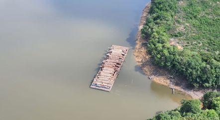 Operação apreende madeira no Pará