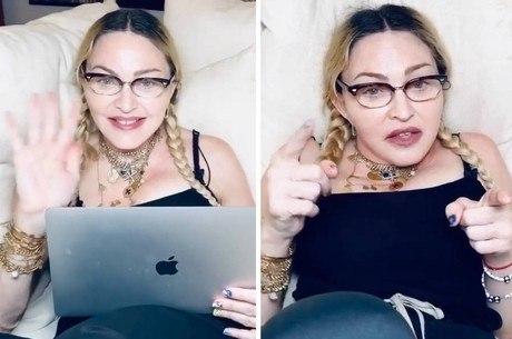 Madonna falou sobre aparência em vídeo no Instagram