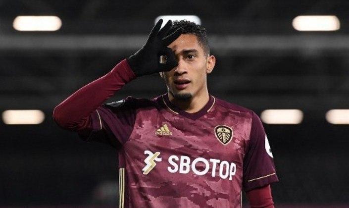 MADOU BEM - Raphinha fez o gol da vitória do Leeds sobre o Fulham na última sexta-feira
