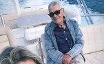 Em passeio de barco com a família de Gusttavo Lima, Giovanete se declarou novamente para Alcino.