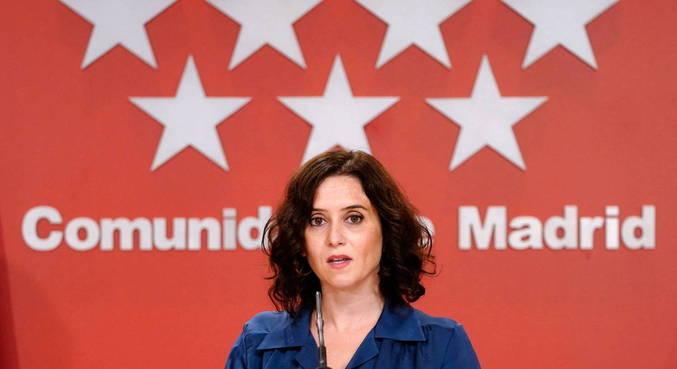 Presidente regional de Madri renuncia