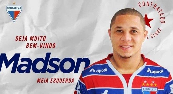 Clube cearense anunciou a contratação nas redes sociais