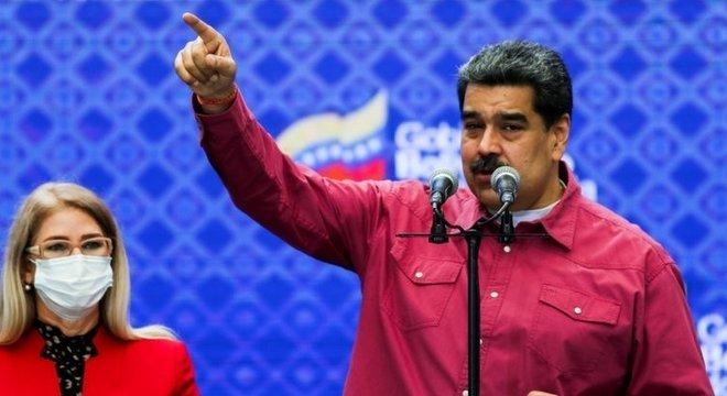 Nicolás Maduro comemorou a conquista eleitoral de seu movimento político
