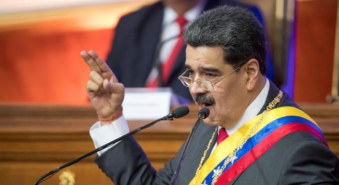 Maduro fez discurso anual à nação na Assembleia Nacional da Venezuela