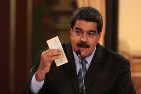 Maduro: trabalhador ganhará 1,8 mil bolívares soberanos