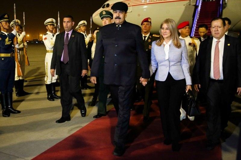 EUA visam mulher de Maduro em novas sanções contra Venezuela