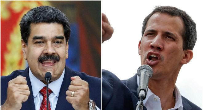 Rússia seguirá dando apoio ao presidente Nicolás Maduro (esquerda)