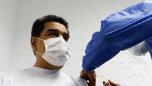 Maduro e esposa tomam 1ª dose de vacina contra covid-19